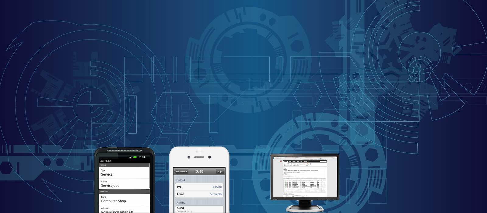 Digitala lösningar för arbetsordrar