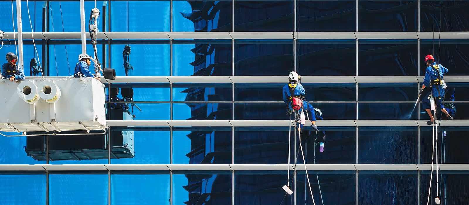 Utför fasaduppdrag med hjälp av mobil arbetsorderhantering